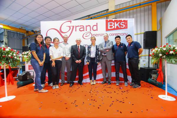Bureaux BKS en Thaïlande