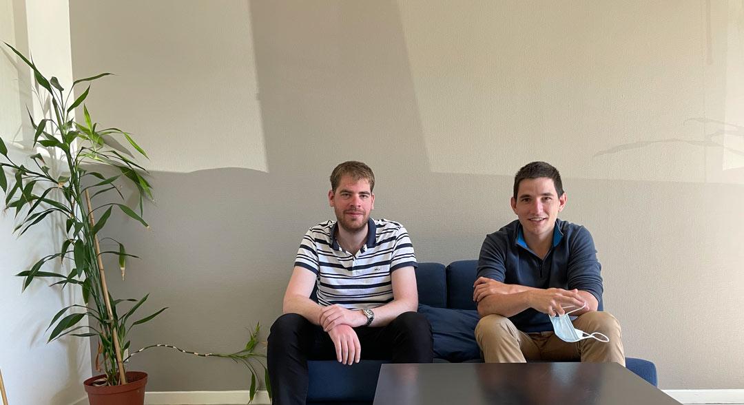 Arnaud and Baptiste on their way to BKS Asia!