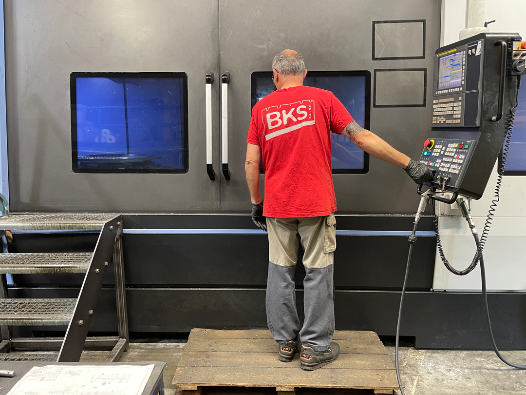Let's meet Luc, Turning, Milling and Grinding Operator